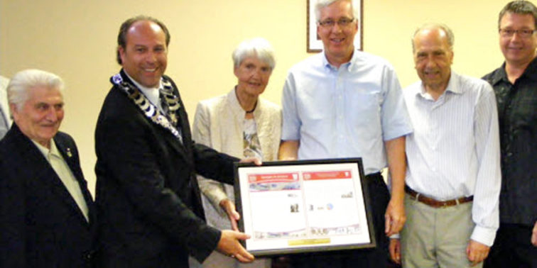BCI PRESENTED WITH AWARD FROM KING TOWNSHIP